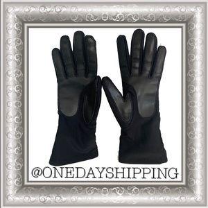 OS Thinsulate 40 Gram Black Gloves